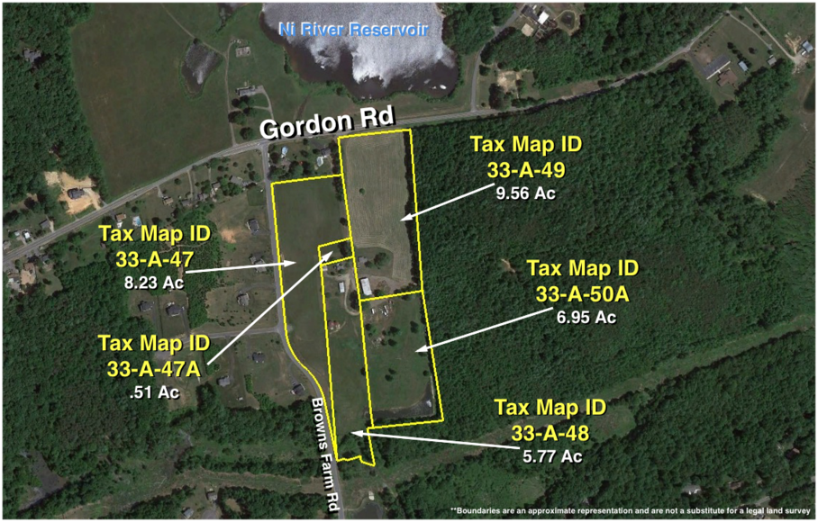 Image for 10507 and 10509 Gordon Rd -- 3 BR/2 BA Home w/Outbuilding on 14.5 +/- Acres on Gordon Rd. Across From Ni River Reservoir and 3 BR/2 BA Home w/Outbuilding on 14.5 +/- Acres on Gordon Rd. Across From Ni River Reservoir