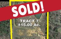 Tract 7: 15± acres