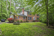 FOR SALE - $475,000 - Private home in natural wooded setting at end of cul-de-sac in Manassas!