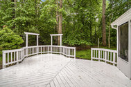 FOR SALE - $515,000 - Private home in natural wooded setting at end of cul-de-sac in Manassas!