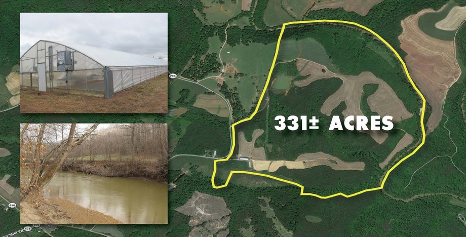 Image for FOR SALE! 331.466 acres in Franklin County, VA
