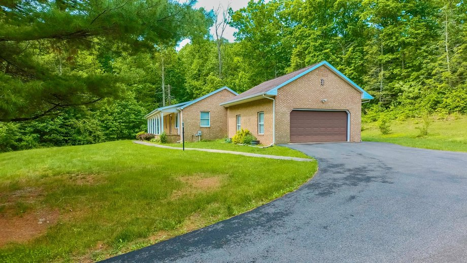 Image for 3 BR/2 BA Brick Home w/Basement on 40.9 +/- Acres in Berkeley Springs, WV