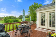 Charming single family home in Potomac Station offers you an incredible backyard oasis! There is a wide open grassy field behind the home, with views of - Single family home backs to open space and trees in Potomac Station, Leesburg!