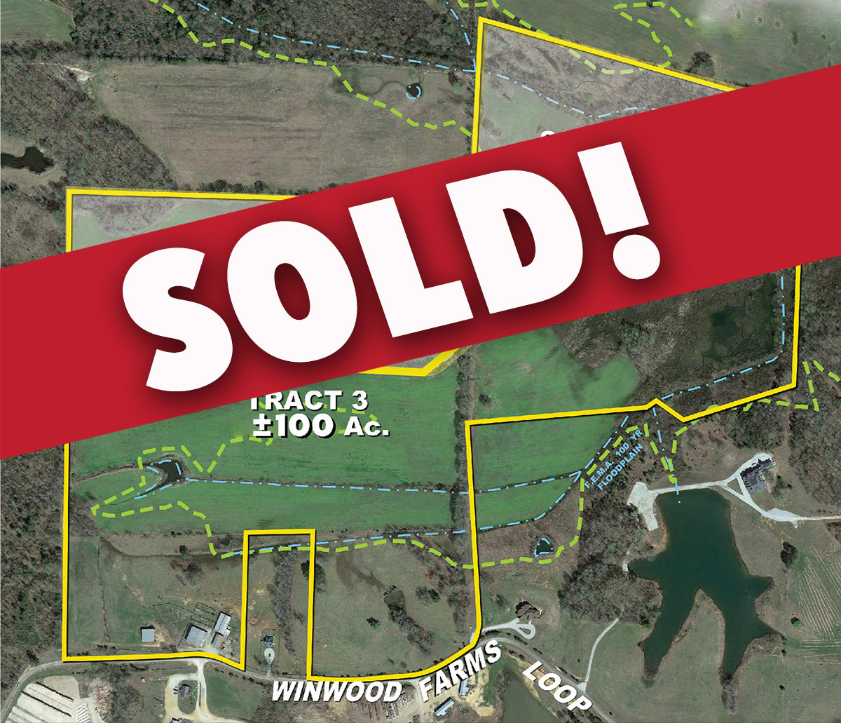 Land for Sale in Hardeman County, Tennessee: 100± Acres of Farmland & More for Sale - Tract 3 on Winwood Farms Loop, Middleton, TN
