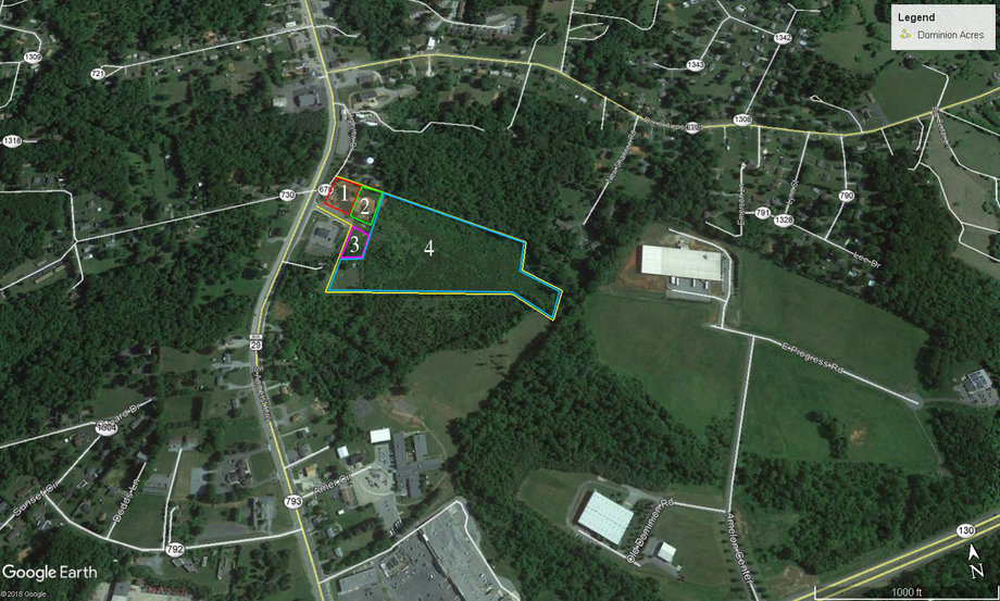 Image for COMMERCIAL & DEVELOPMENT REAL ESTATE AUCTION: 4 Lots (Madison Heights, VA)