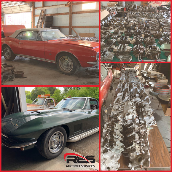 Classic Car & Muscle Car Parts Auction