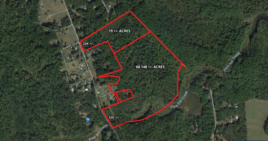 Image for 2 Parcels -- 19+/- Acres and 68+/- Acres -- of Wooded Land in King George County, VA--SELLS to the HIGHEST BIDDER!!