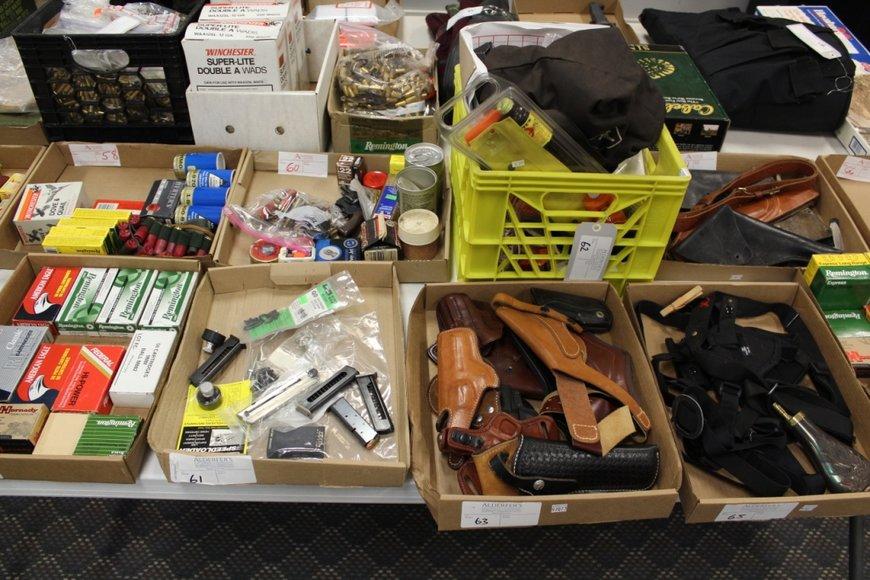 Firearms Auction - Offline Lots: 8-13-19