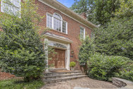 UNDER CONTRACT PENDING LENDER APPROVAL AND BANKRUPTCY COURT APPROVAL - $1,349,000 - Stately all-brick Williamsburg-style colonial with four fireplaces backs to parkland in McLean High School district!