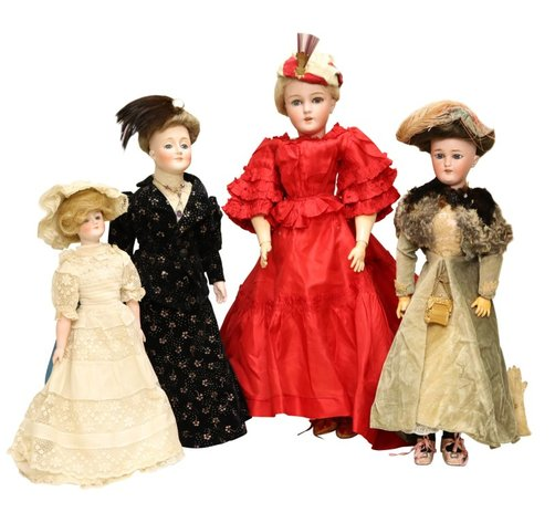 Live and Online Auction - Catalog of Antique & Other Fine Dolls: 10-2-19