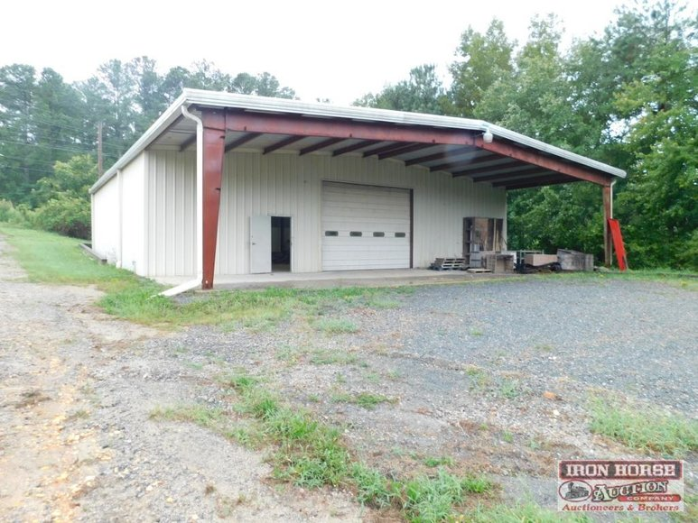 Commercial Building on 7.84+/- Acres Located On Highway 52 in Wadesboro, NC