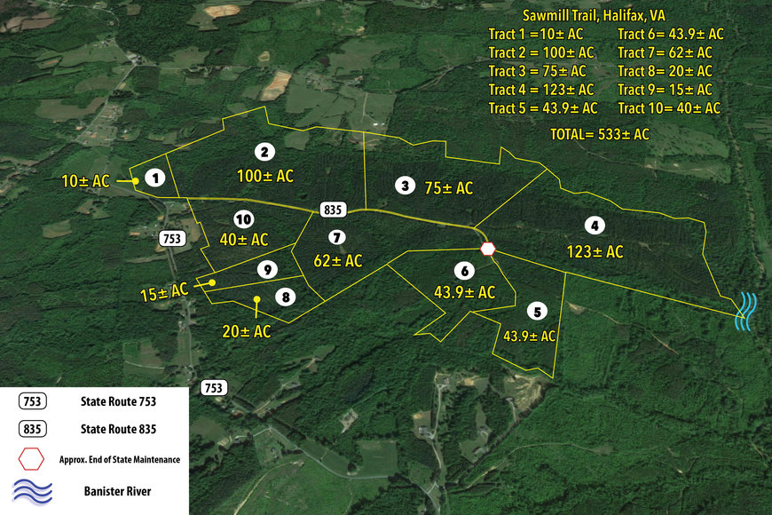 Image for Tract 4 - 123 +/- Acres