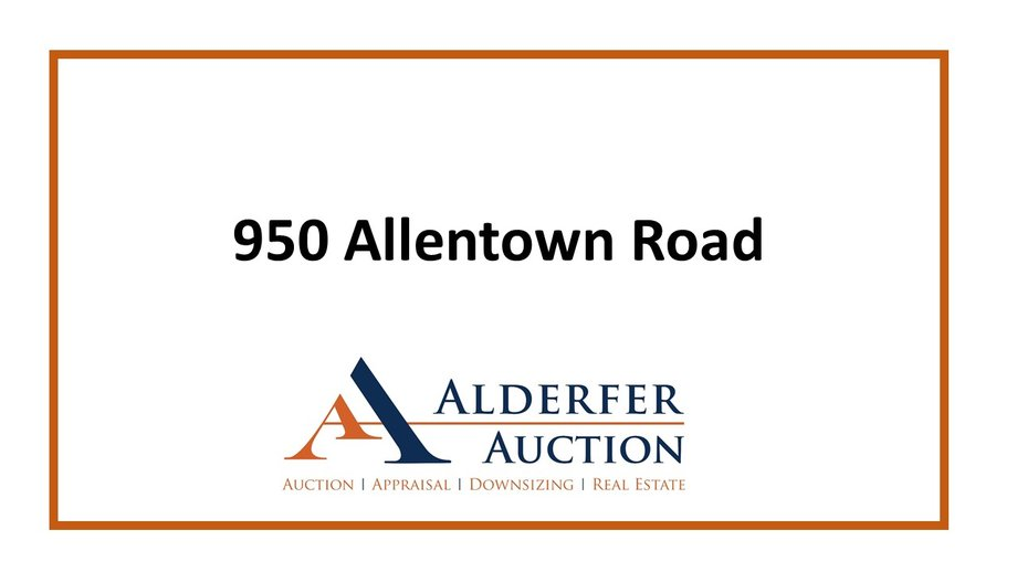 Real Estate Open House – 950 and 970 Allentown Road, Green Lane, PA