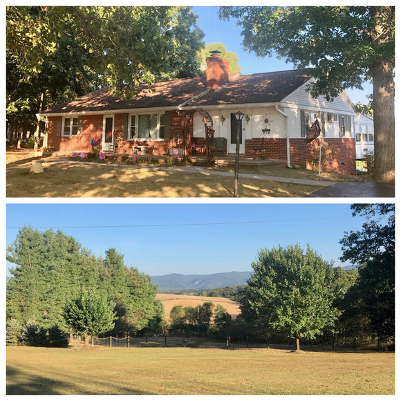 Image for 2 BR/2 BA Brick Home w/Basement & Detached Garage/Shop on 2.2 +/- Acres in Augusta County, VA