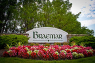 UNDER CONTRACT  - $374,900 - Spacious end unit townhome in popular Braemar with nearly everything new inside and out!