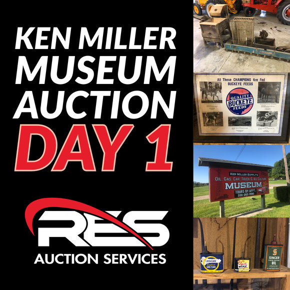 Ken Miller Museum Auction: Day 1