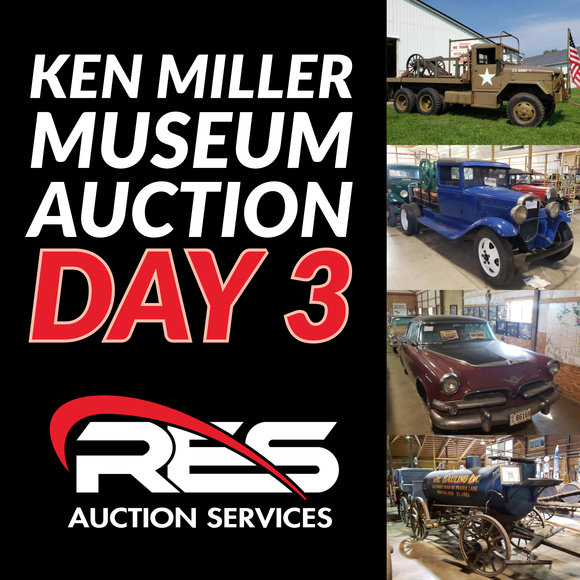 Ken Miller Museum Auction: Day 3