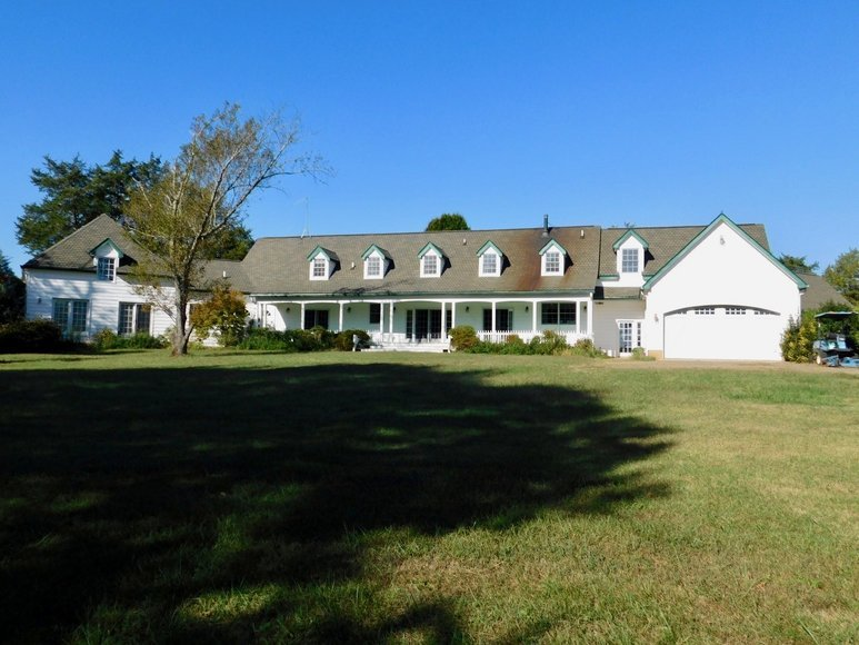 Image for 5 BR/5.5 BA Estate Home on 34 +/- Acres in Culpeper County, VA and 34.5 +/- Acres w/20 Stall Barn and Indoor & Outdoor Riding Arenas in Culpeper County, VA--SELLS to the HIGHEST BIDDER!!