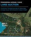 Land Auction: Ponderosa Ave Cadiz, KY