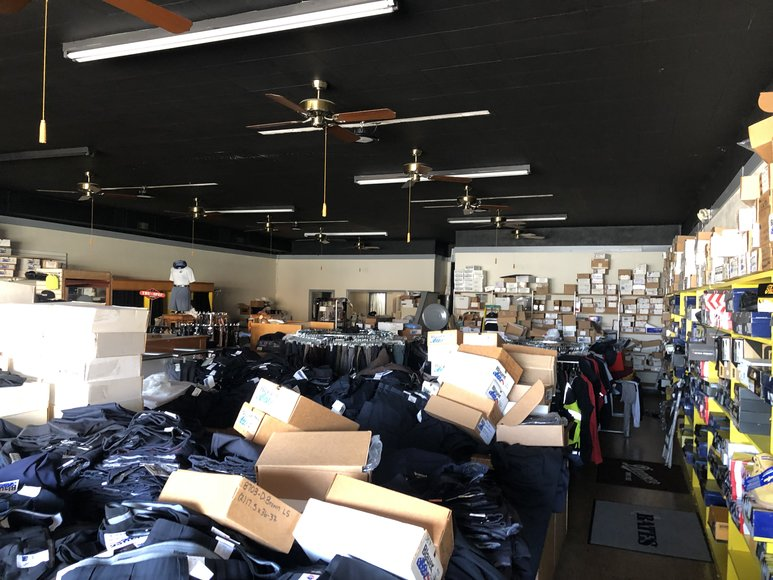 Bankruptcy Auction of the Remaining Inventory, Furniture, Fixtures and Honda Van