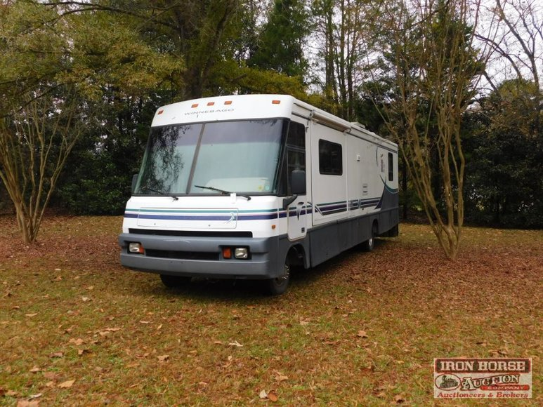 Motorhomes, Automobiles, Motorcycles, Boat, Mowers, Tools and Furniture