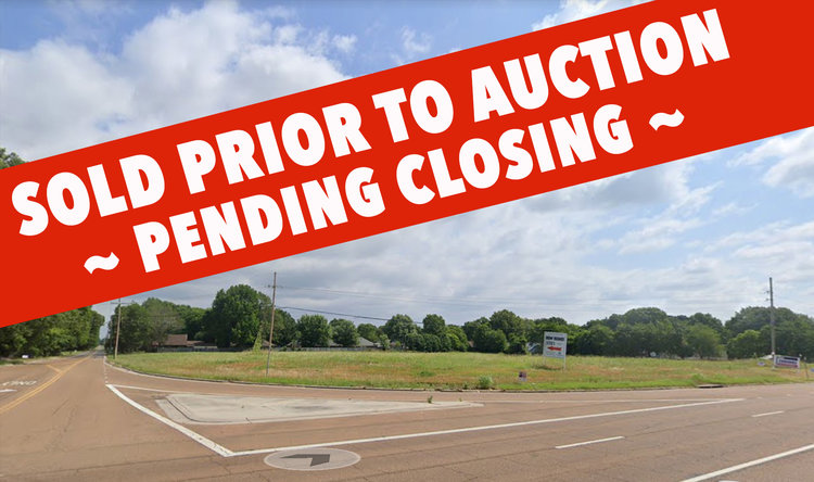 SOLD PENDING CLOSING: ABSOLUTE AUCTION, MUST CLOSE IN 10 DAYS! 5± Acres Zoned C-1, in DeSoto County, MS