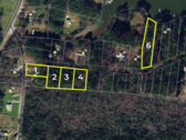 Offering 7: Entirety Offering - One (1) Waterfront Building Lot On Milford Haven Bay & Four (4) Interior Building Lots Near Gwynn's Island - 98 Hicksville Rd., Hudgins, VA 23076