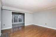 SOLD – Two bedrooms plus den corner-unit condo in Lake Ridge backing to woods!