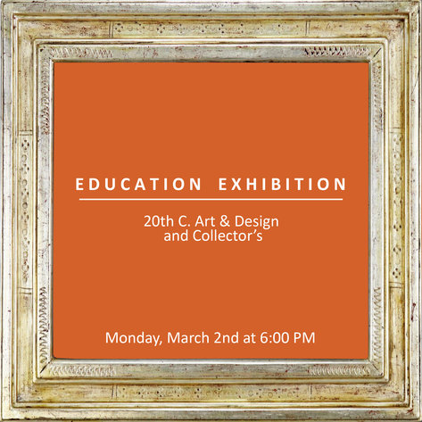 Education Exhibition | March 2, 2020 at 6:00 PM