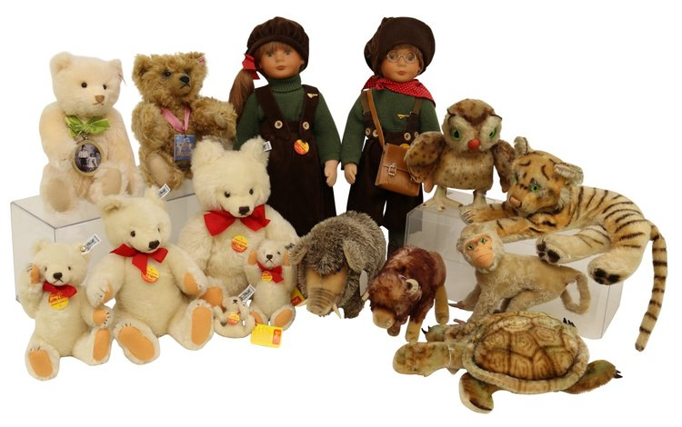 Steiff, European, Artist, Antique Bears and Other Animals   March 10, 2020 at 8:00 PM