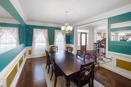 FOR SALE - $759,900 - Stately brick colonial built by NV Homes in 2014 in Loudoun Crossing, Aldie!