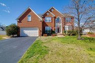 UNDER CONTRACT PENDING LENDER AND COURT APPROVAL - $525,000 - Brick front 5 BR 5 BA colonial at end of cul-de-sac in Stafford!