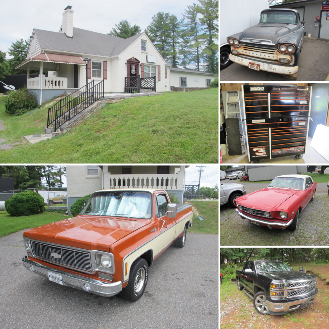 Image for ABSOLUTE AUCTION: Real Estate, Automobiles, Tools & Accessories