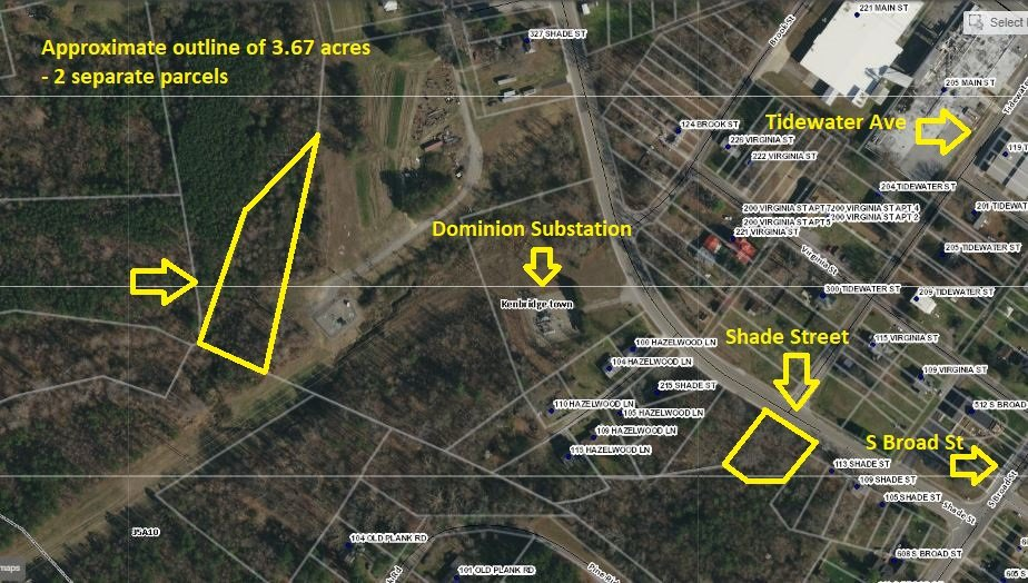 Image for 2 Parcels totaling 3.67 +/- Acres in Lunenburg County, VA--SELLS to the HIGHEST BIDDER!!
