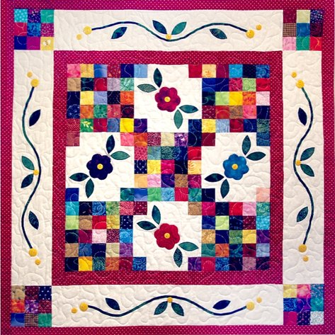 Delectable Mountain Quilt Guild~2020 Yard Square Quilts Charity Auction