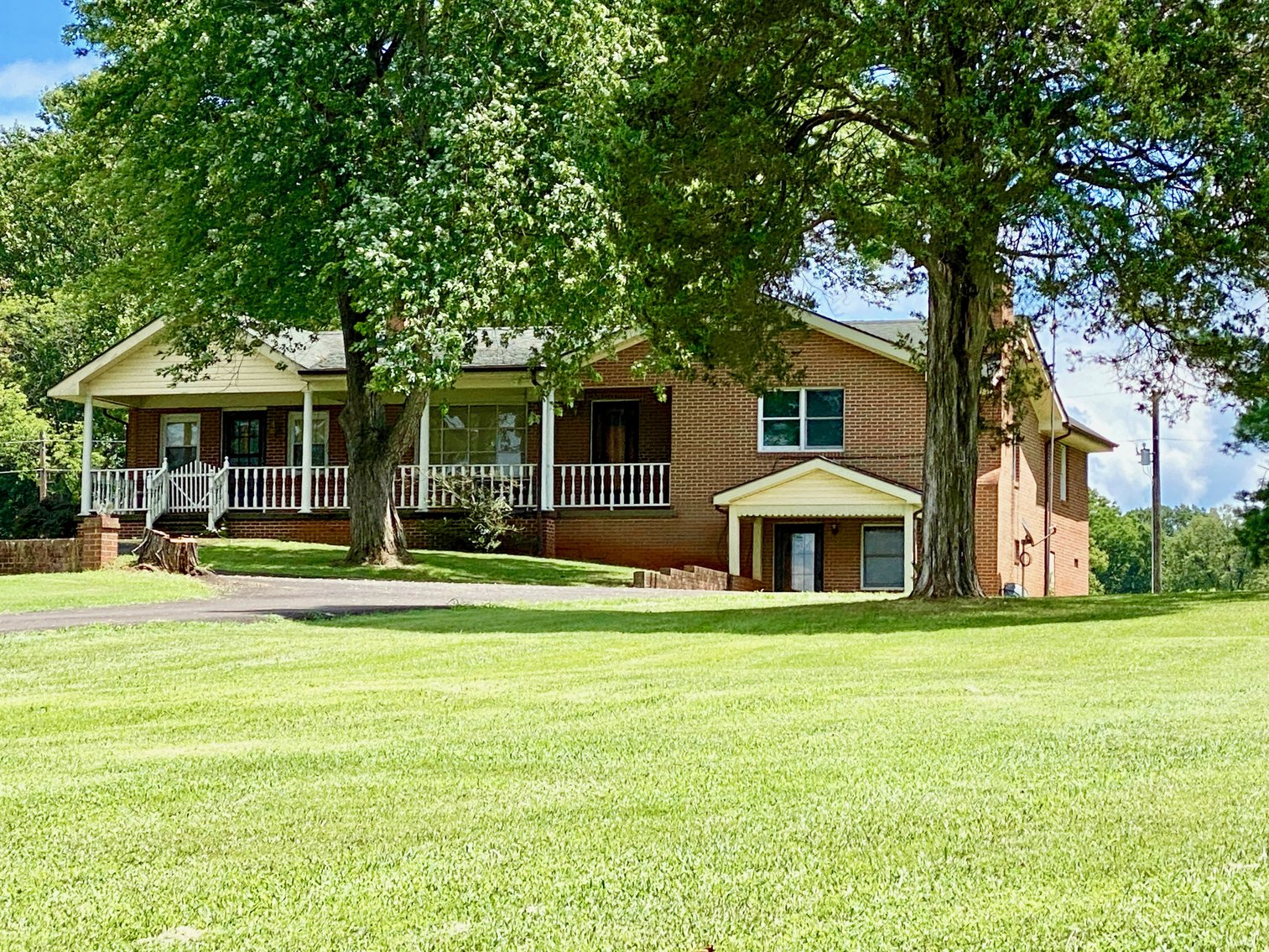 Image for 3 BR/2 BA Brick Home on 8.9 +/- Acres w/Detached Garage/Work Shop & Gorgeous Mountain Views