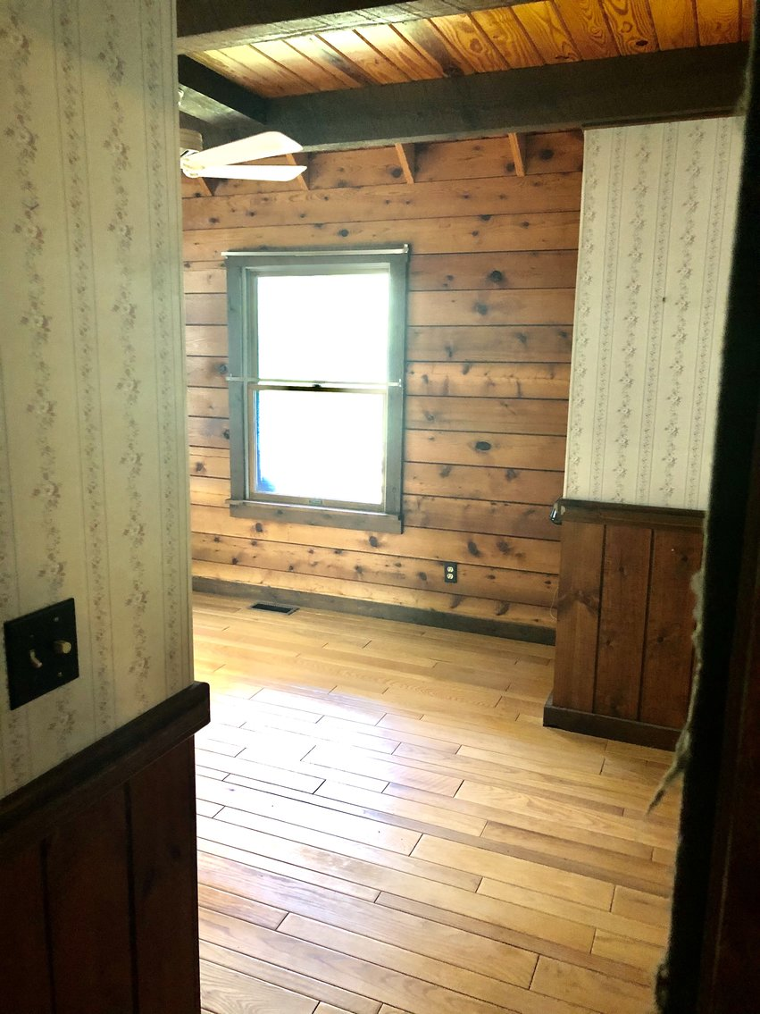 Image for 2 BR/1 BA Log Cabin on 30 +/- Acres Bordering National Forest in Bath County, VA