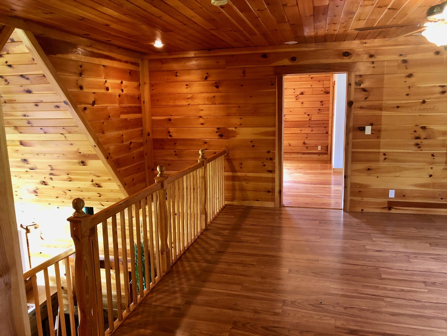 Image for Majestic 3 BR/4.5 BA Log Home on 45 +/- Acres w/5,000 sf. Shop--Augusta County, VA