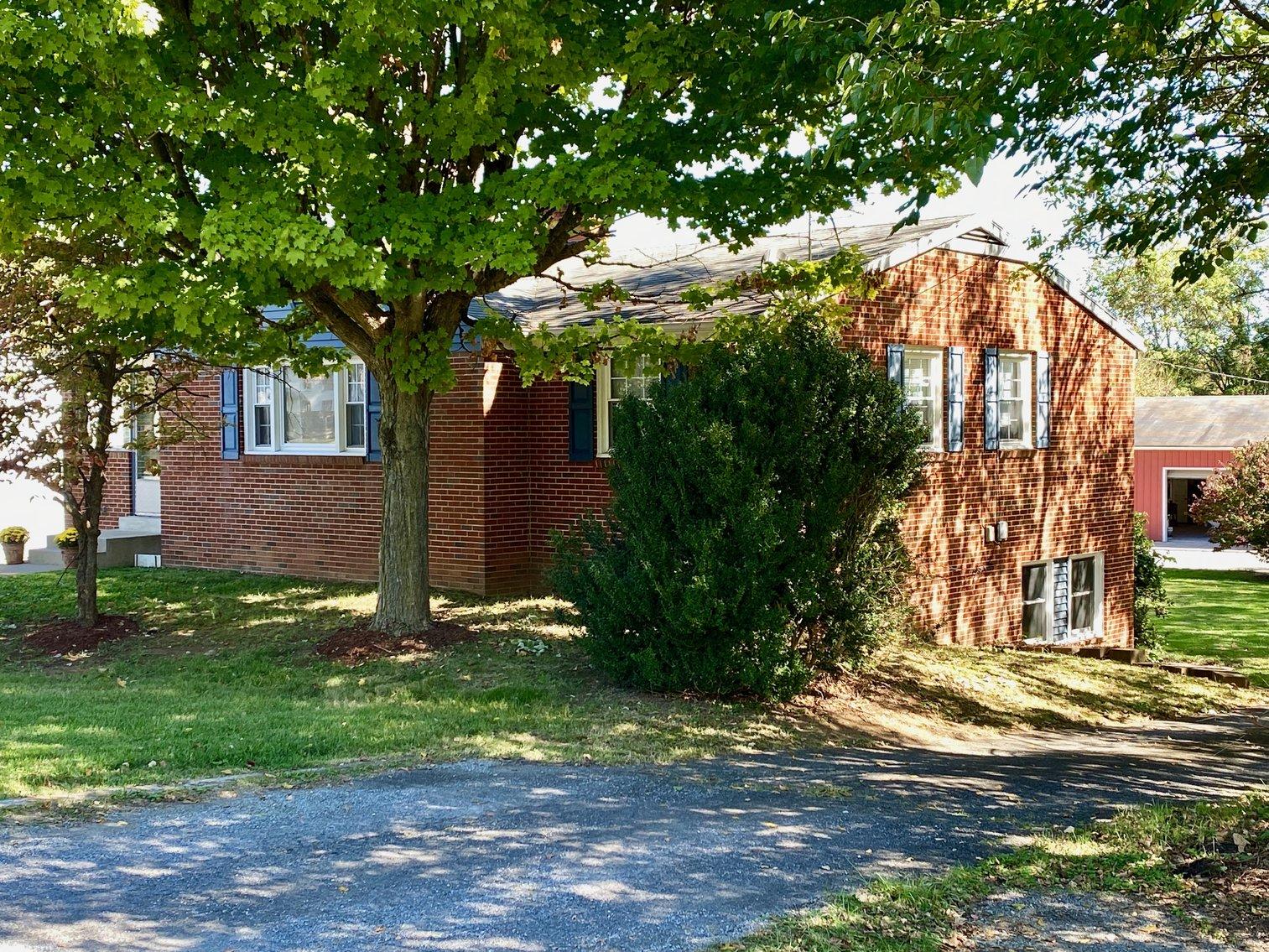 Image for 3 BR/2 BA Brick Home on .5 +/- Acre Lot w/1,500 +/- sf. Workshop/Garage--Clarke County, VA