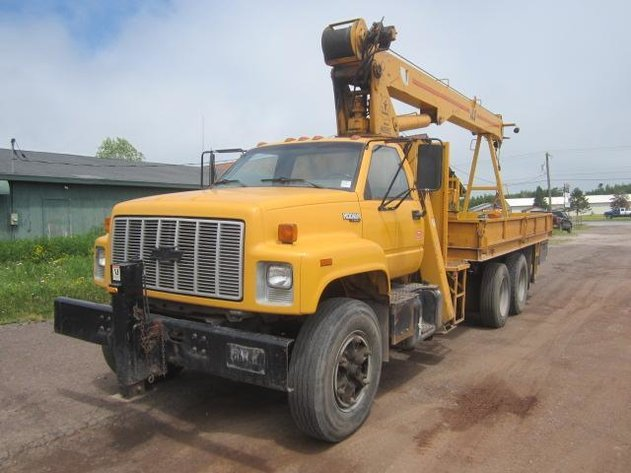 HERMANTOWN ONLINE AUCTIONS: CHEVORLET KODIAK BOOM TRUCK,TOWABLE AIR COMPRESSORS AND TRAILERS ONLINE AUCTION - CLOSED!