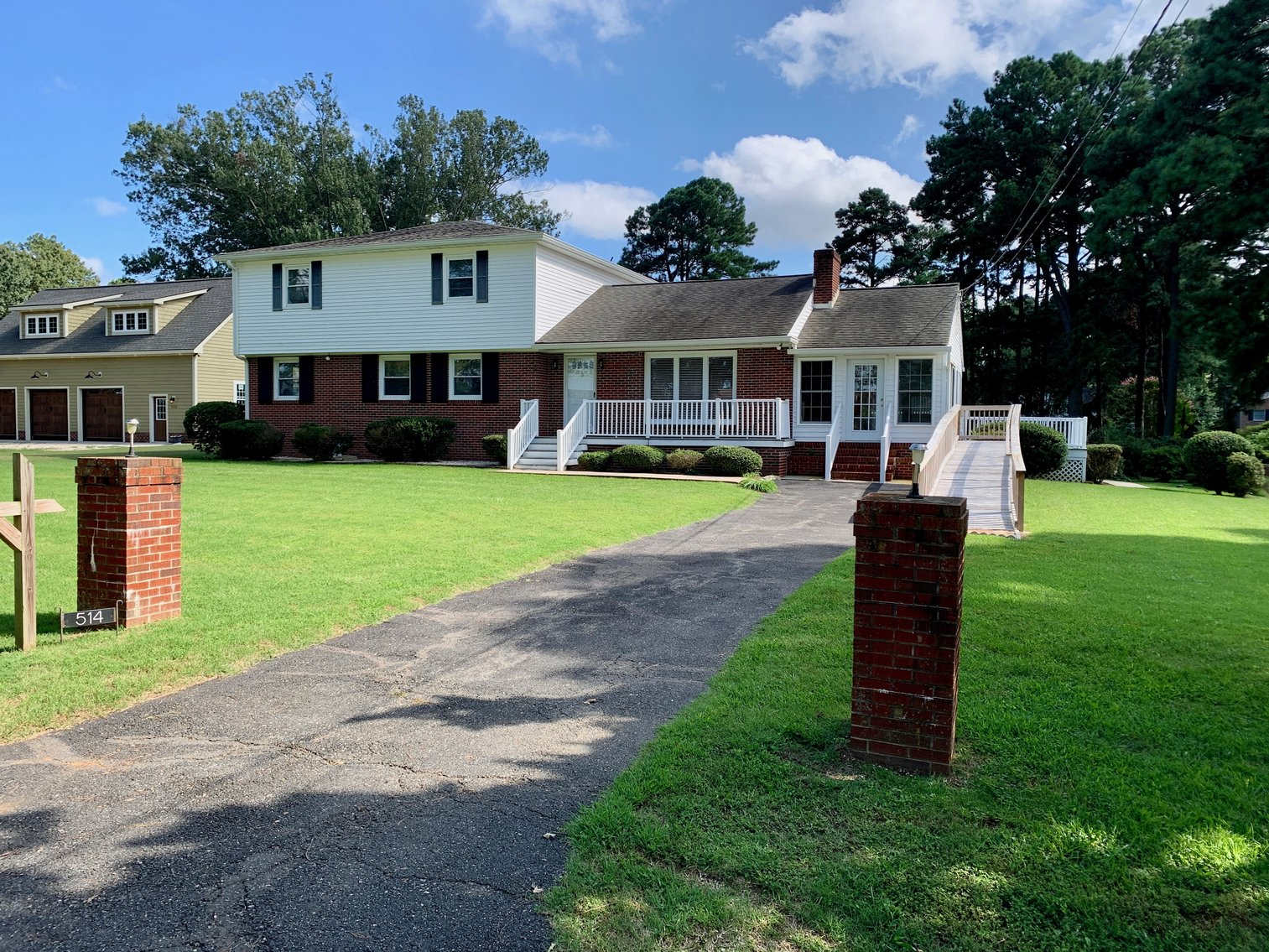 Image for 5 BR/2 BA Home w/Extra Lot, Rappahannock River View & Access**Only 1 Block Off the River in Tappahannock, VA