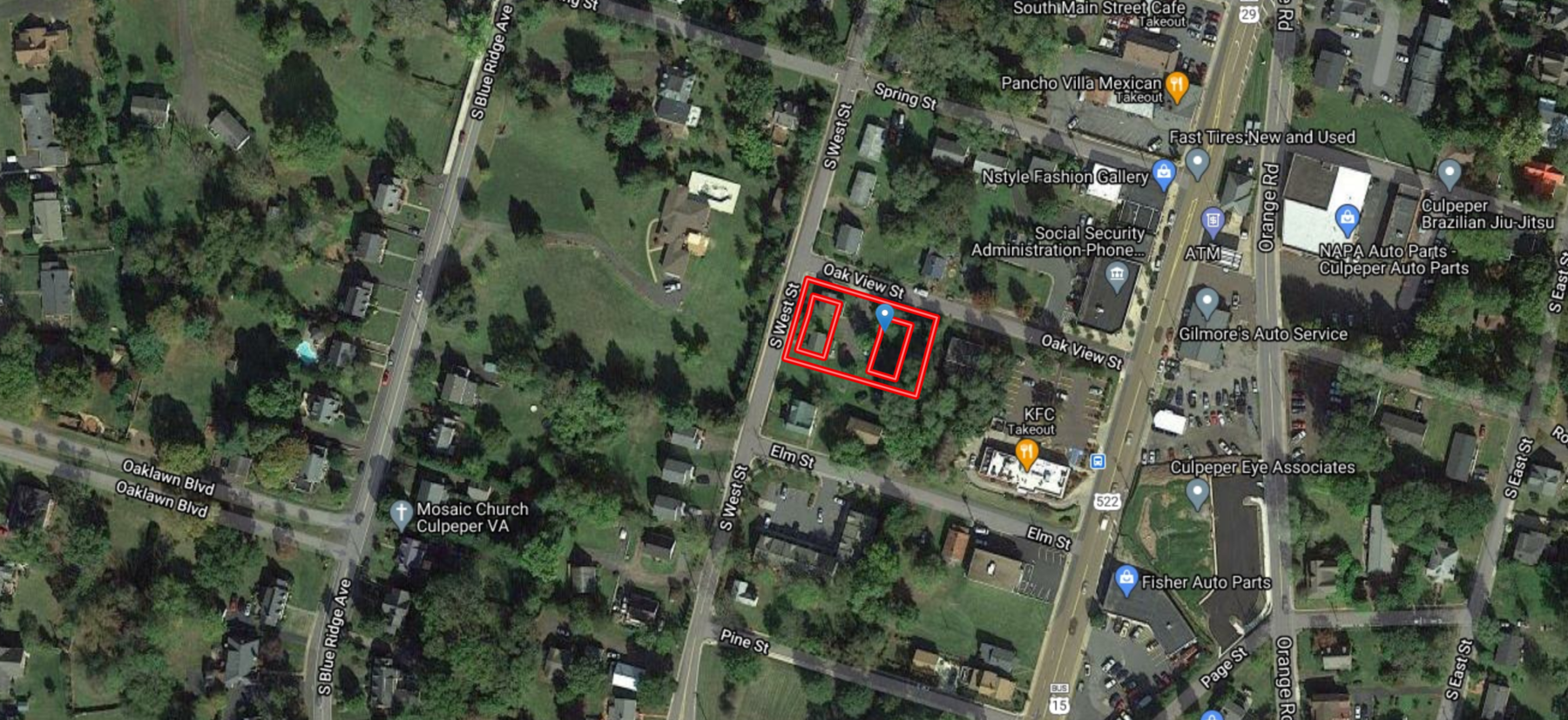 Image for Multi Family Real Estate Investment Opportunity Located Only Steps From Main St.--Culpeper, VA
