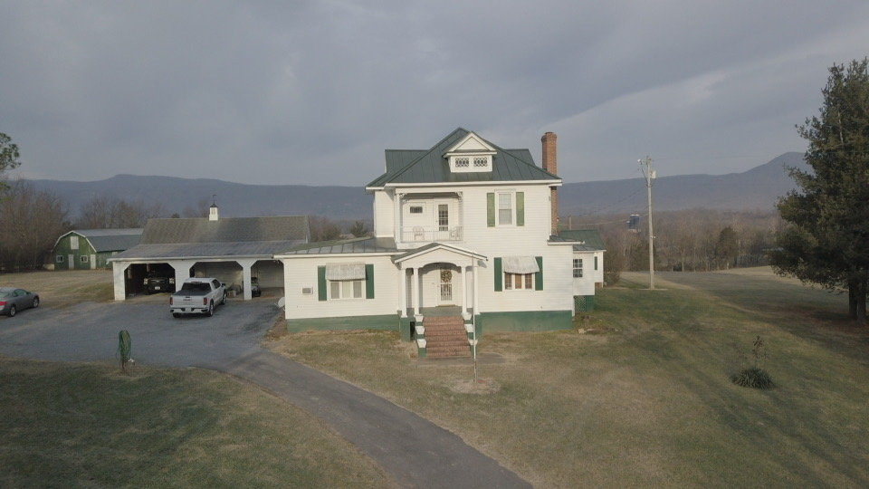 Image for 4 BR/3 BA Home on 20 +/- Acres w/Gorgeous Mountain Views, Multiple Barns/Outbuildings & Creek on Property--Page County, VA