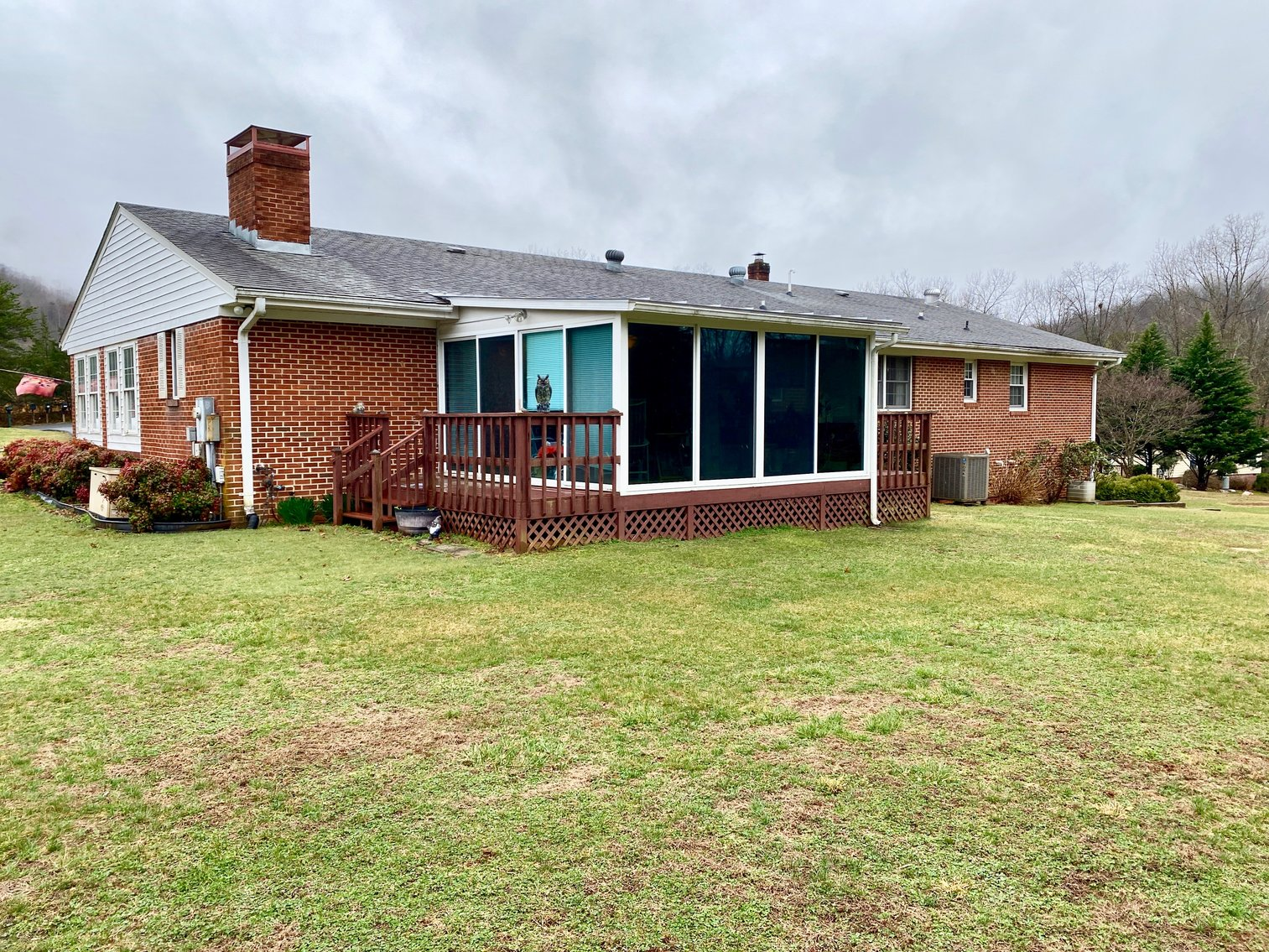 Image for 3 BR/3 BA Brick Home on 2 +/-  Acres w/Detached Garage/Work Shop in Nelson County, VA