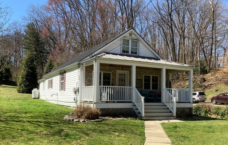 2-3 BEDROOM HOME W/ PORCH SHED AND PATIO ON .56 +/- AC LOT
