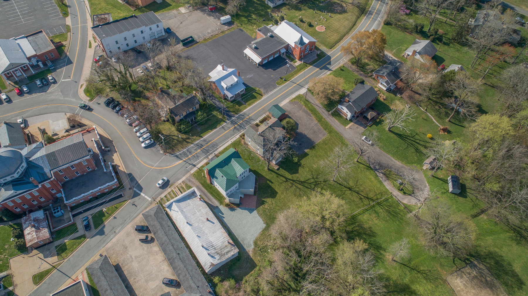 Image for 8 Room/2 BA Home/Office Building (Circa 1859) on .277 +/- Acres in Downtown Louisa, VA