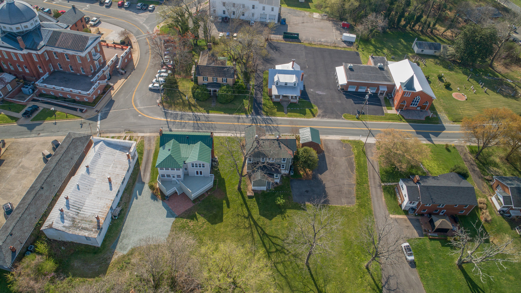 Image for 9 Room/2 half bathroom Home/Office Building (Circa 1905) on .50 +/- Acres in Downtown Louisa, VA