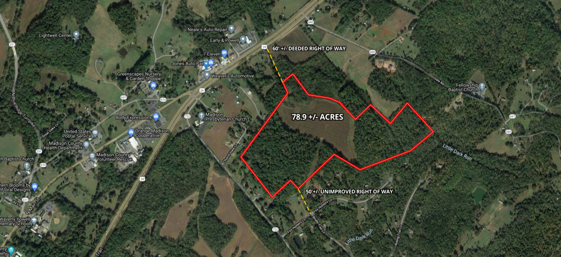 Image for 78.9 +/- Acres of Land in Madison County, VA--SELLING to the HIGHEST BIDDER!!