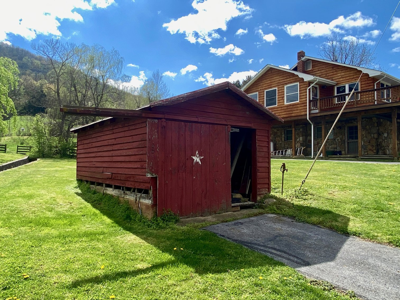Image for 3 BR/4 BA Home w/Barn, Shop, Ponds, Pool, Fencing & More on 70 +/- Acres w/Amazing Mountain Views--Luray, VA