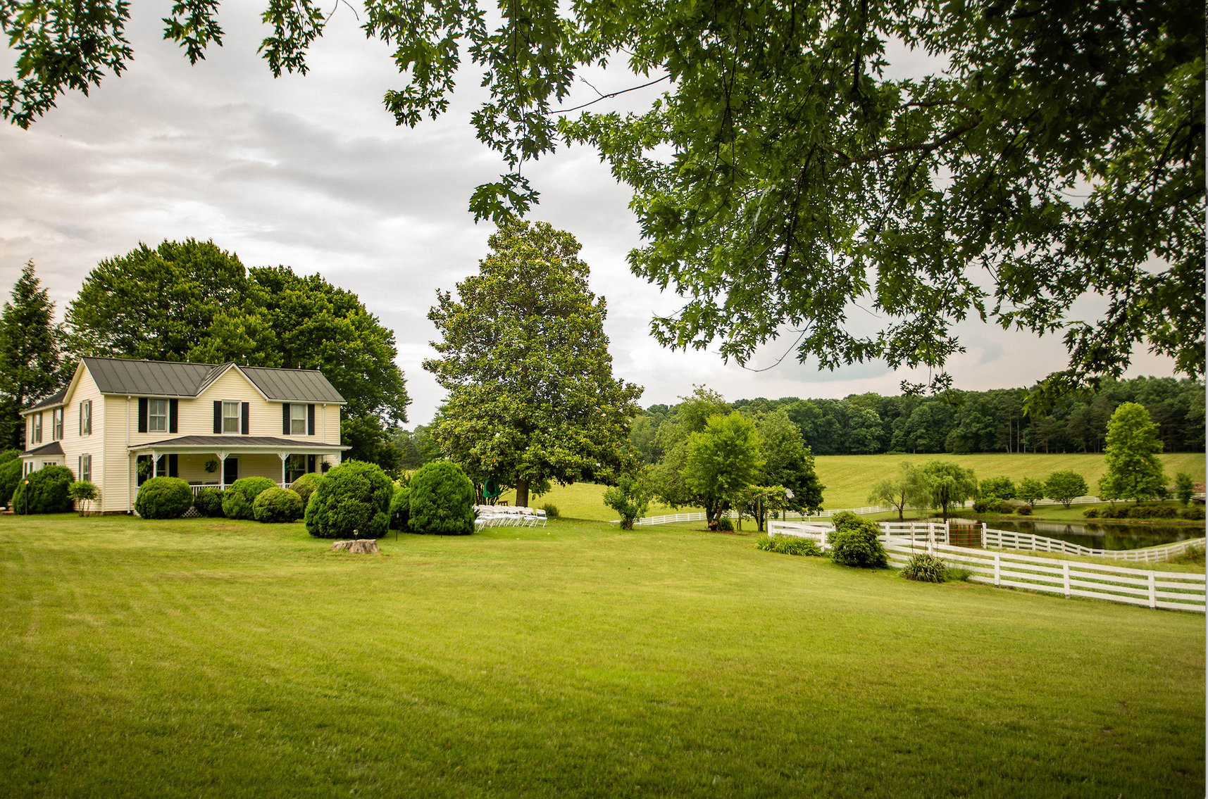 Image for 4 BR/2 BA Farm House, Barns, Fencing & 2 Ponds on 57.5 +/- Acres in Fauquier County, VA--SELLING to the HIGHEST BIDDER!!